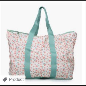 Blu Avocado collapsible tote